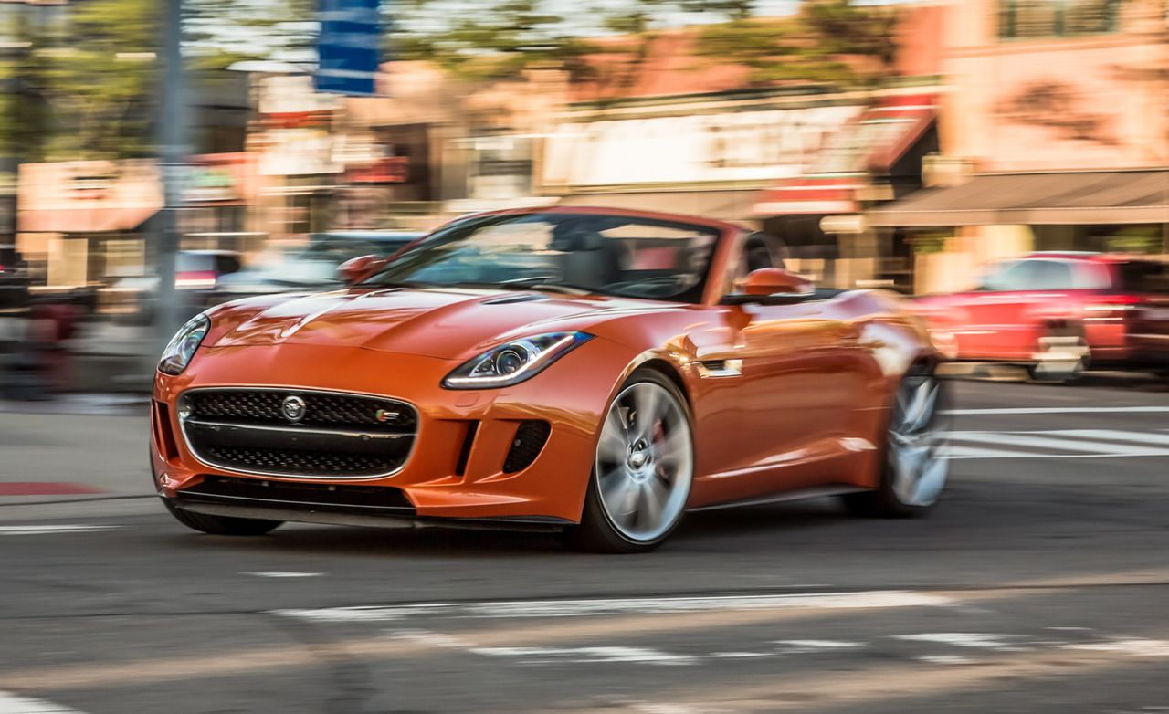 2014 Jaguar F Type V 8 S Roadster