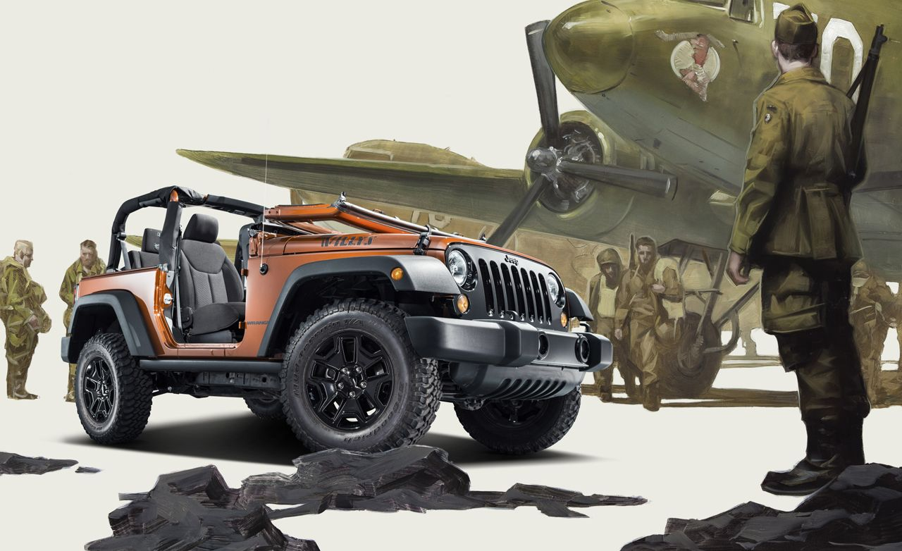 Superior 2014 Jeep Wrangler Willys