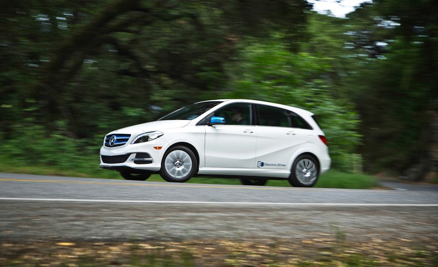 2014 mercedes benz b class electric drive review car for Mercedes benz b class electric car