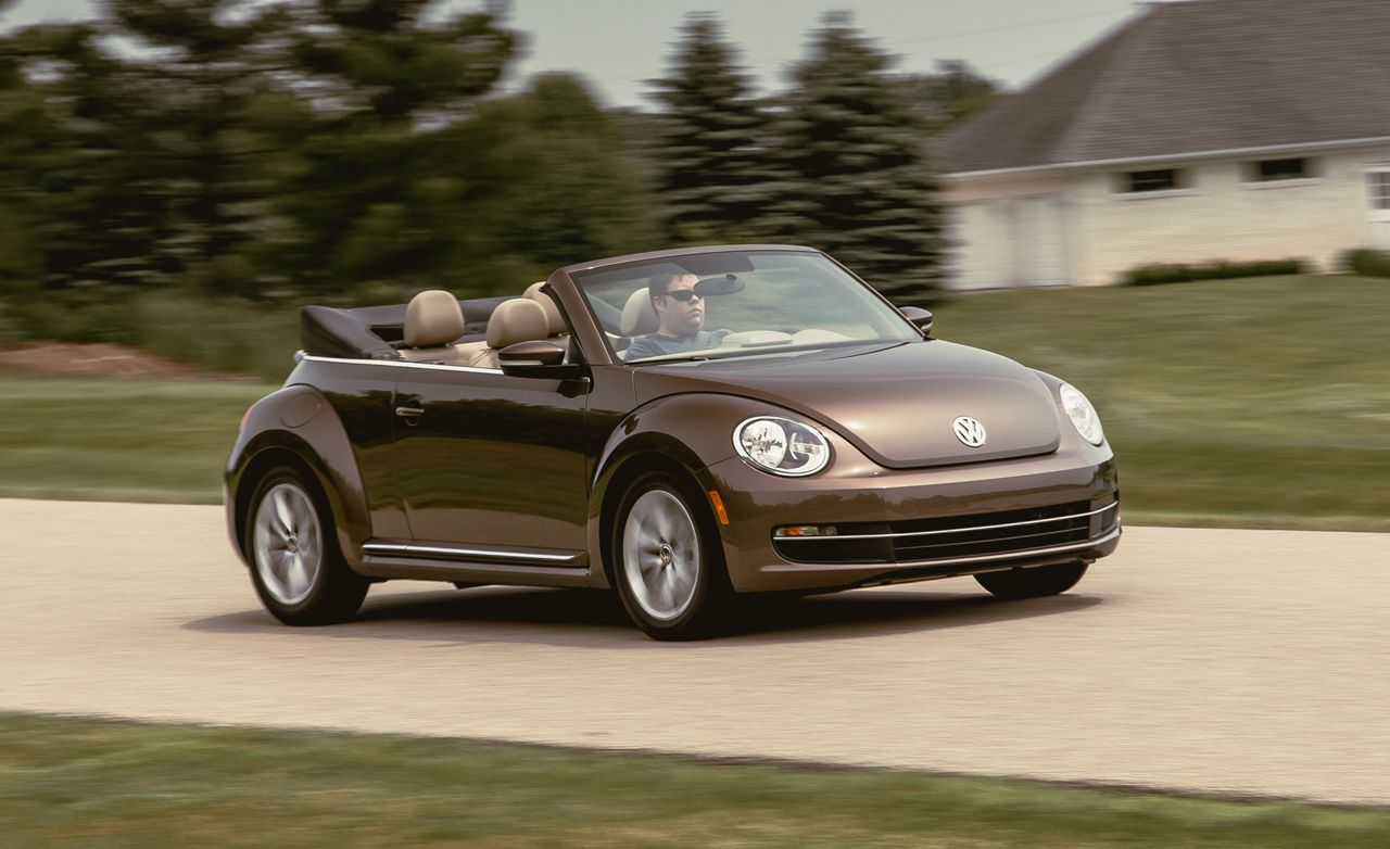 Vw Beetle Test >> 2014 Volkswagen Beetle Convertible Tdi Test Review Car And Driver
