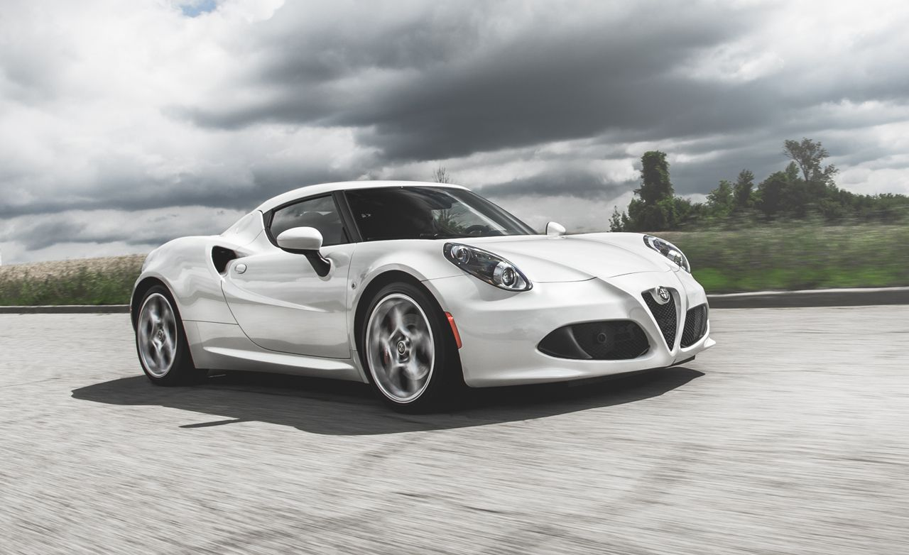 2015 alfa romeo 4c coupe test