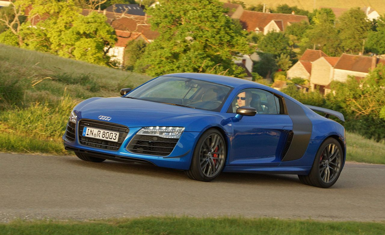 2015 audi r8 lmx first drive review car and driver