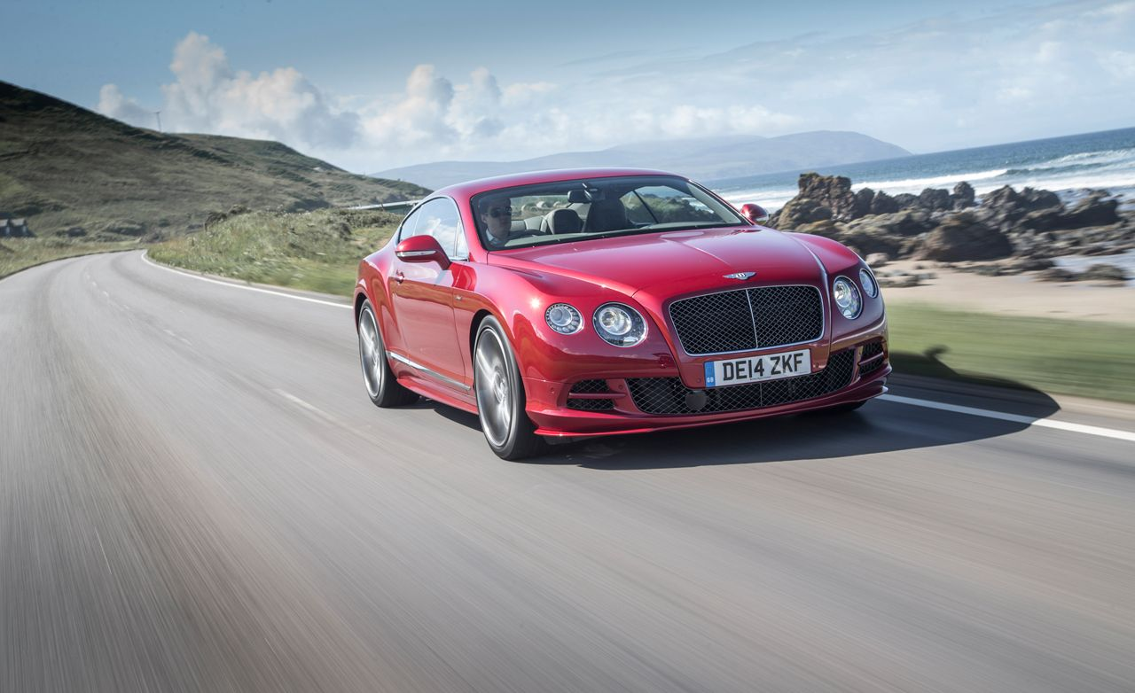 2015 bentley continental gt speed first drive review car and driver