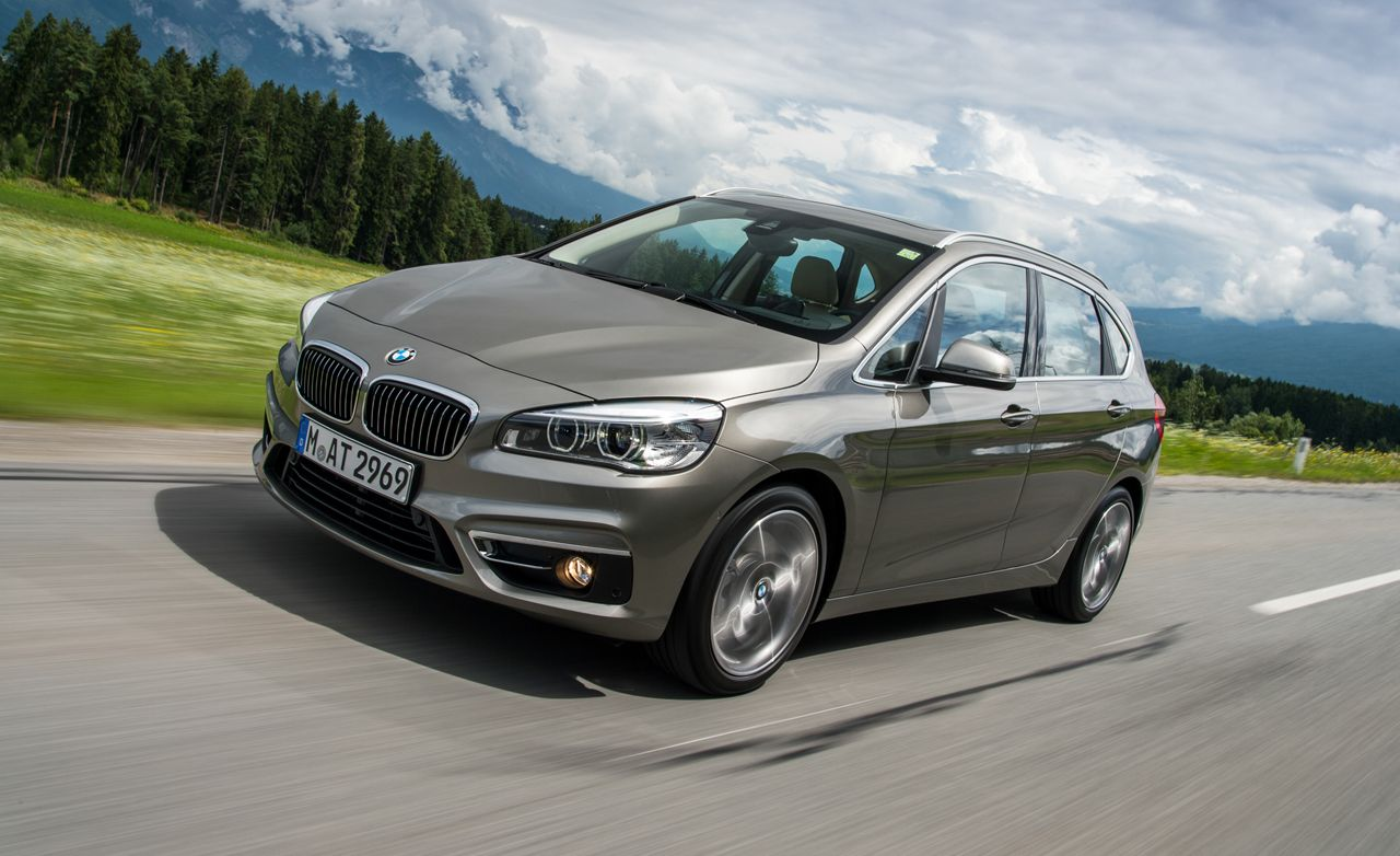 2015 bmw 2 series active tourer first drive review car. Black Bedroom Furniture Sets. Home Design Ideas