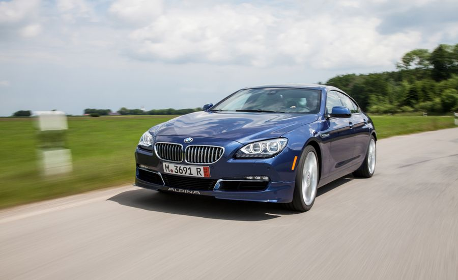 BMW Alpina B XDrive Gran Coupe First Drive Review Car And - Alpina bmw b6