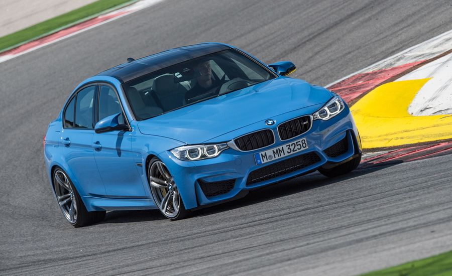 BMW M Sedan First Drive Review Car And Driver - 2015 bmw m3 sedan price