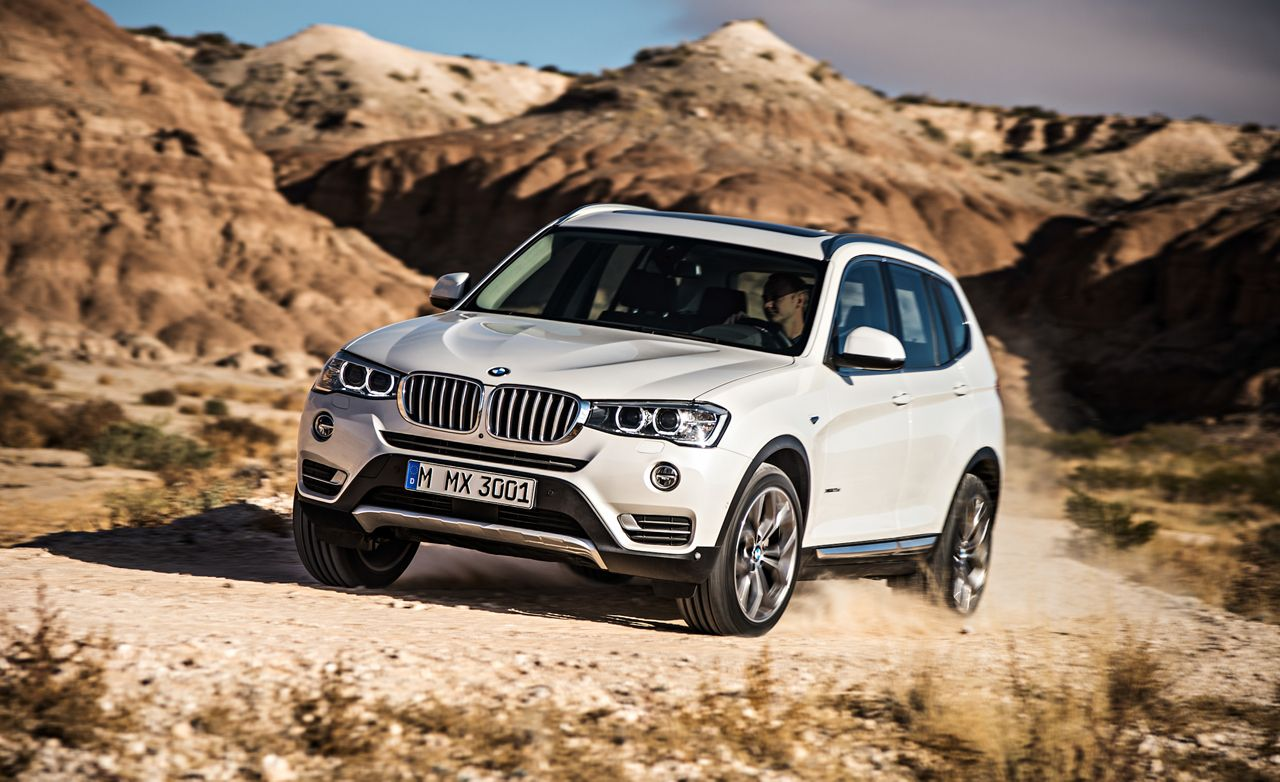 2015 Bmw X3 Xdrive28d Diesel Test Review Car And Driver
