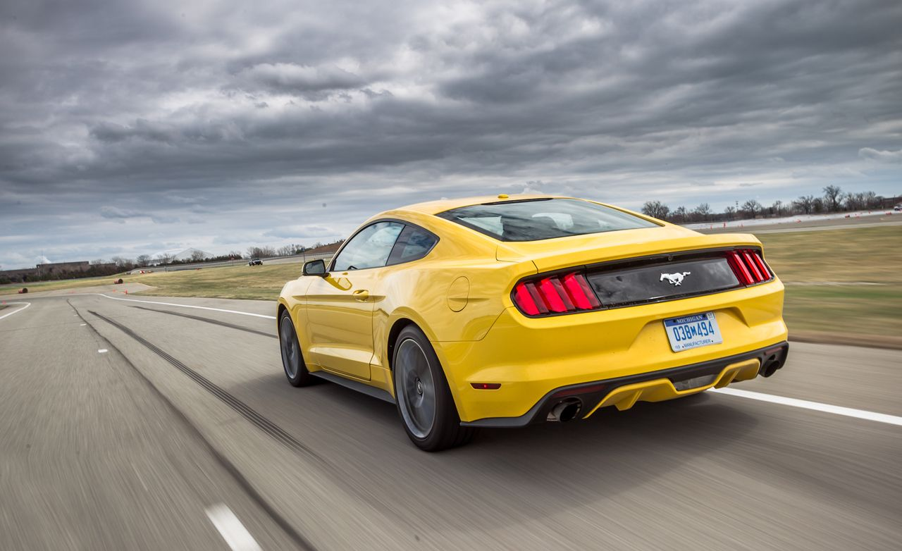 2015 Ford Mustang 2 3l Ecoboost First Ride Review Car And Driver