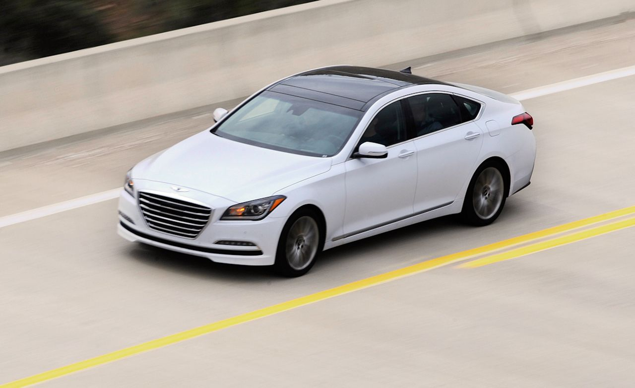 2015 hyundai genesis first drive review car and driver rh caranddriver com Edmunds New Car Buyers Guide Ireland Car Buyers Guide