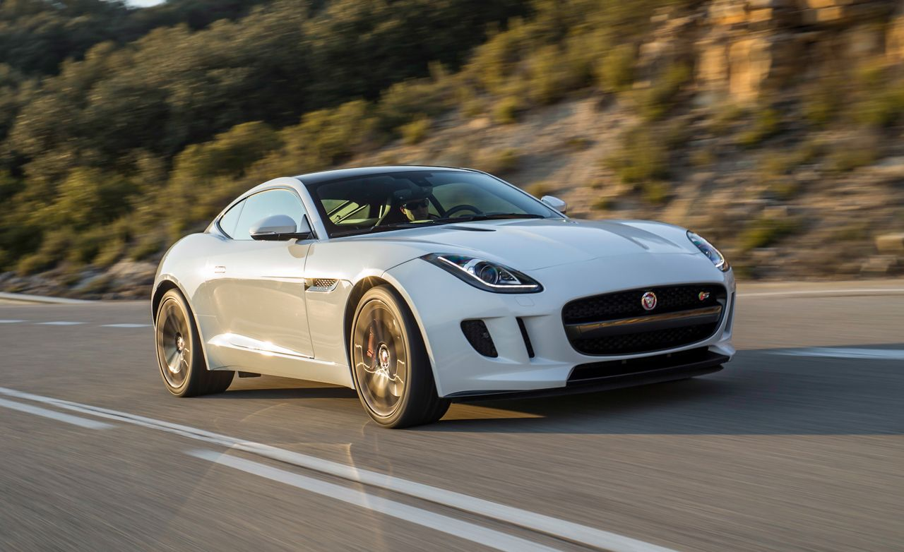 2015 Jaguar Ftype V6 S Coupe First Drive  Review  Car and Driver