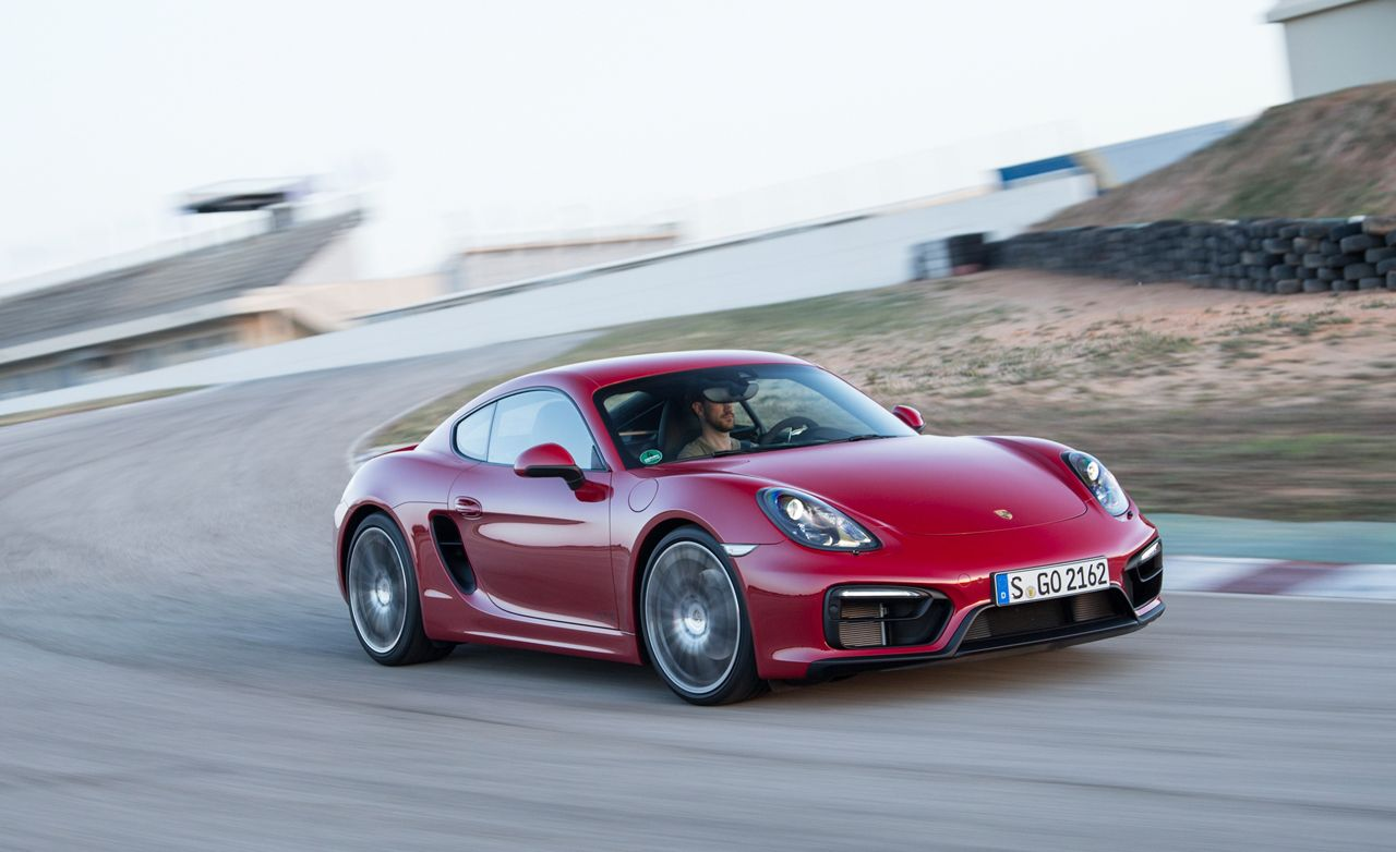 2015 Porsche Cayman Gts First Drive Review Car And Driver
