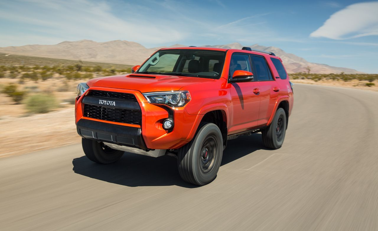 2015 Toyota 4runner Trd Pro First Drive Review Car And Driver