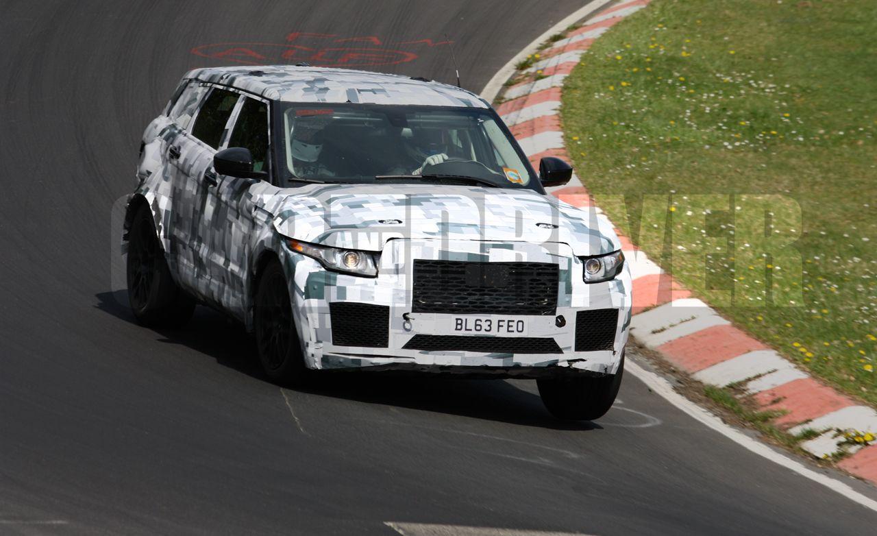 2017 Jaguar Crossover Spy Photos: Literally Expanding the Brand