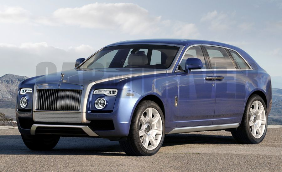 2018 Rolls-Royce SUV Rendered