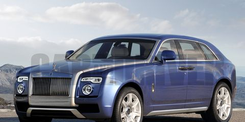 What It Is An Artist S Impression Of Suv By Rolls Royce Could Look Like Grafting Styling Cues From The Phantom And Ghost Upper Luxury