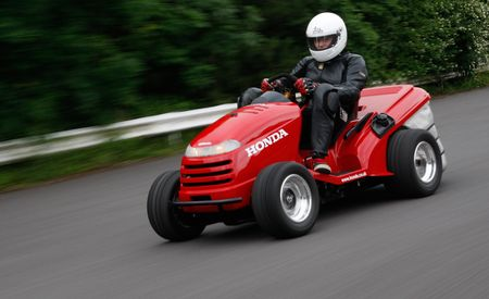 Honda Mean Mower: A 109-hp, 130-mph Lawn Tractor