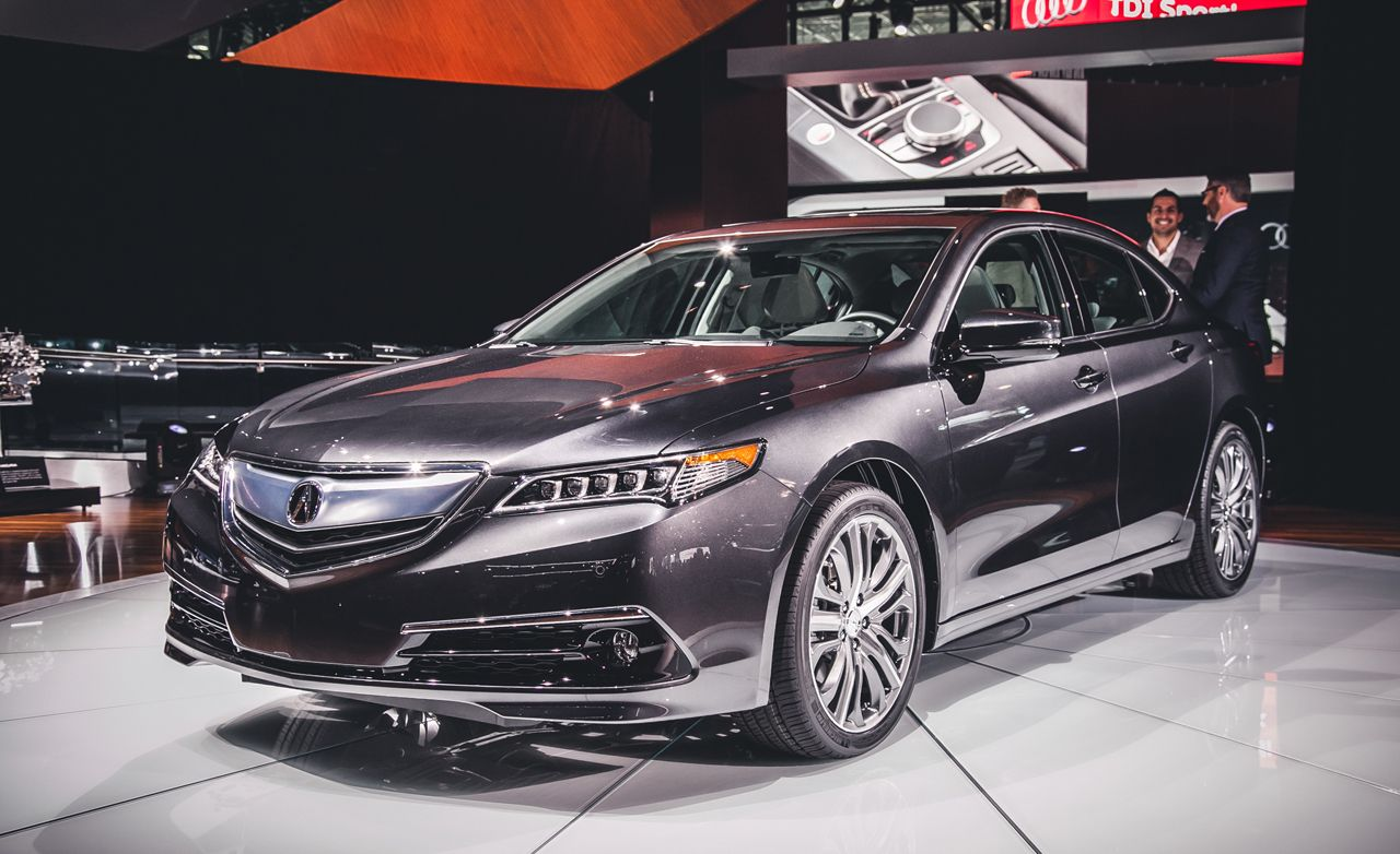 Acura Tl 2016 Price >> 2015 Acura TLX Photos and Info | News | Car and Driver