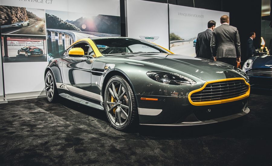 2015 Aston Martin V8 Vantage GT Photos And Info