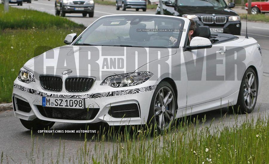 BMW Series Mi Convertible Spy Photos News Car And - 2015 bmw lineup