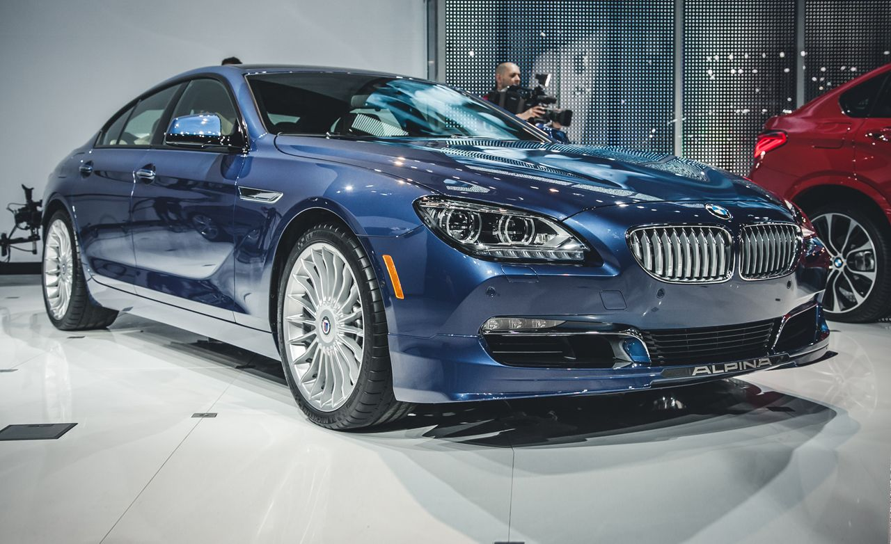 2015 bmw alpina b6 xdrive gran coupe photos and info news car and driver