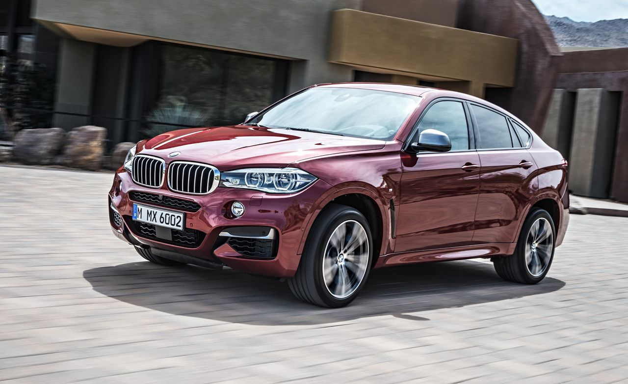 2015 bmw x6 remaking the original coupe uv