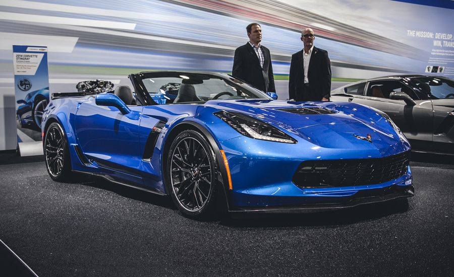 2015 Chevrolet Corvette Z06 Convertible Photos And Info News Car