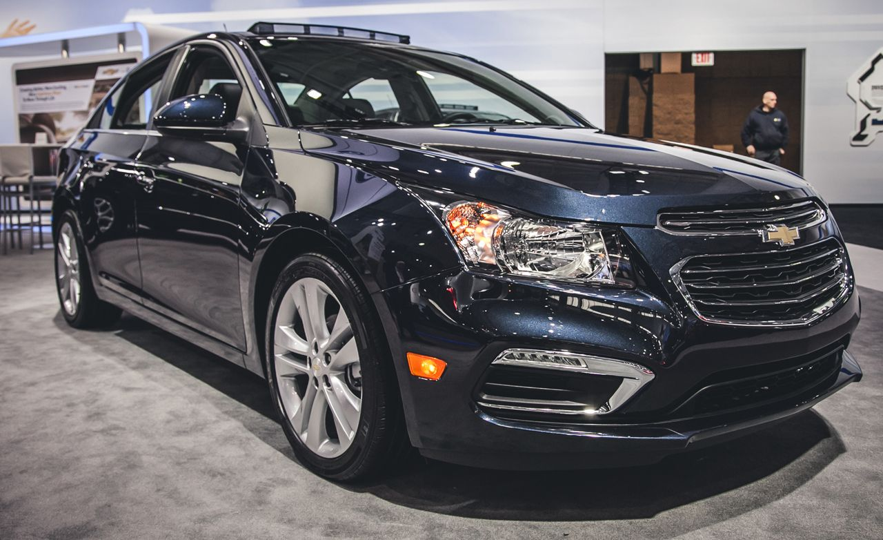 2015 Chevrolet Cruze: Quiet Competence, Continued