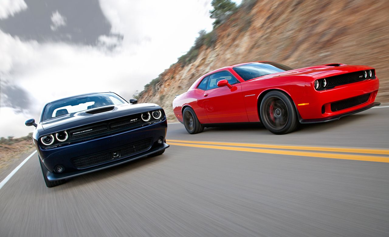 2015 Dodge Challenger R T Scat Pack And Srt 392 First Drive Review