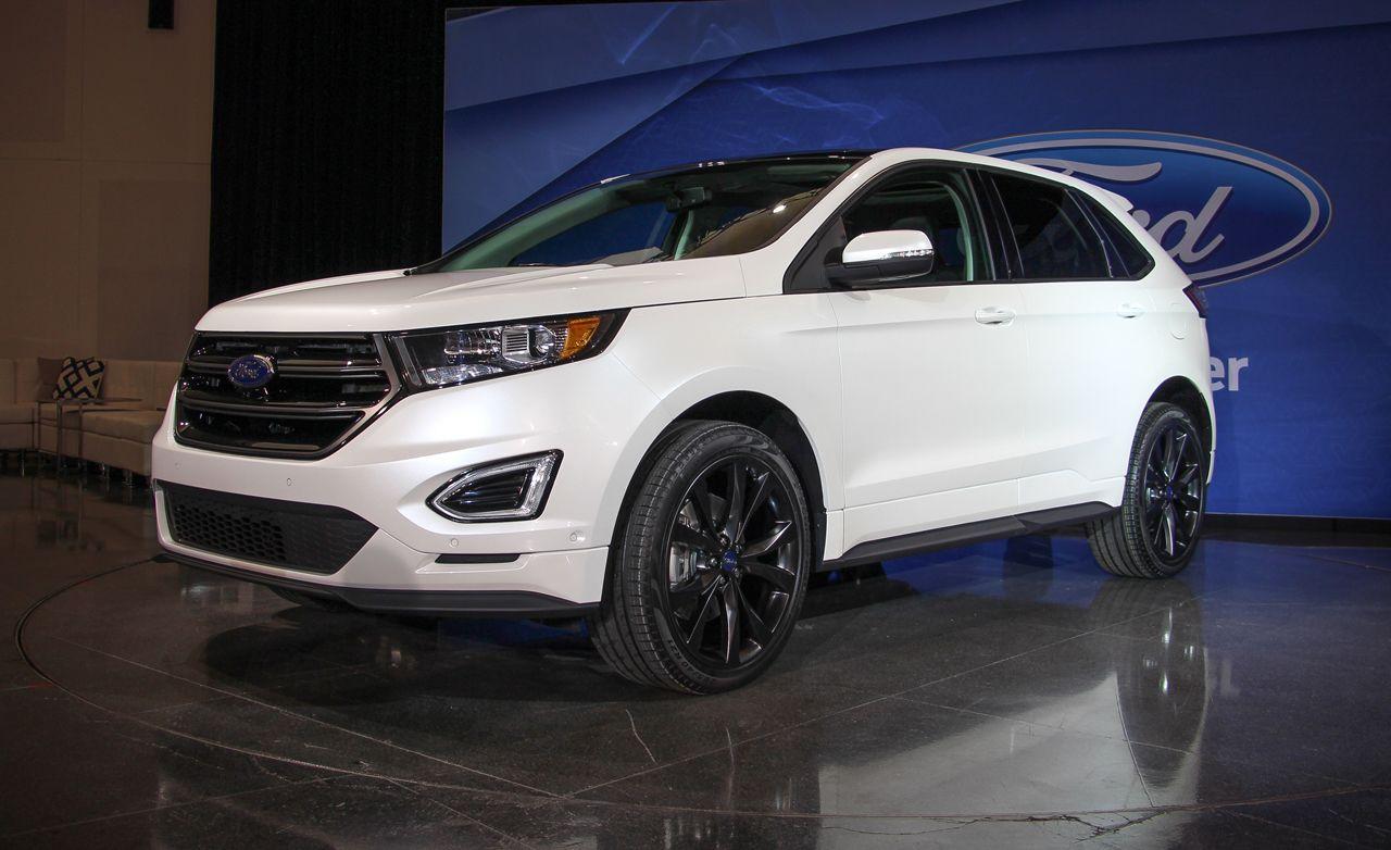 2015 Ford Edge Titanium 3 5l V 6 Awd Test Review Car And Driver