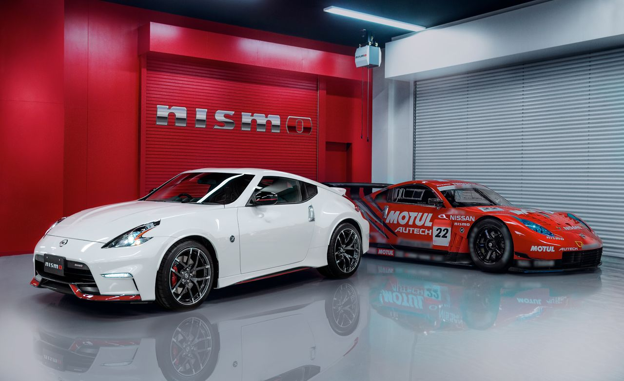 2015 Nissan 370Z NISMO: New Stylingu2014and New Automatic Transmission