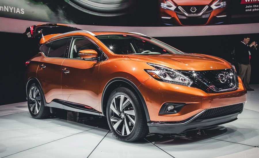 2015 nissan murano photos and info news car and driver. Black Bedroom Furniture Sets. Home Design Ideas