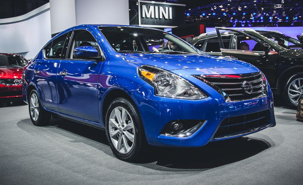 Nissan versa reviews nissan versa price photos and specs car 2015 nissan versa sedan vanachro Images