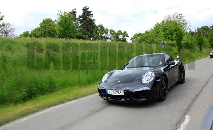 2015 Porsche 911 Carrera GTS Spy Photos