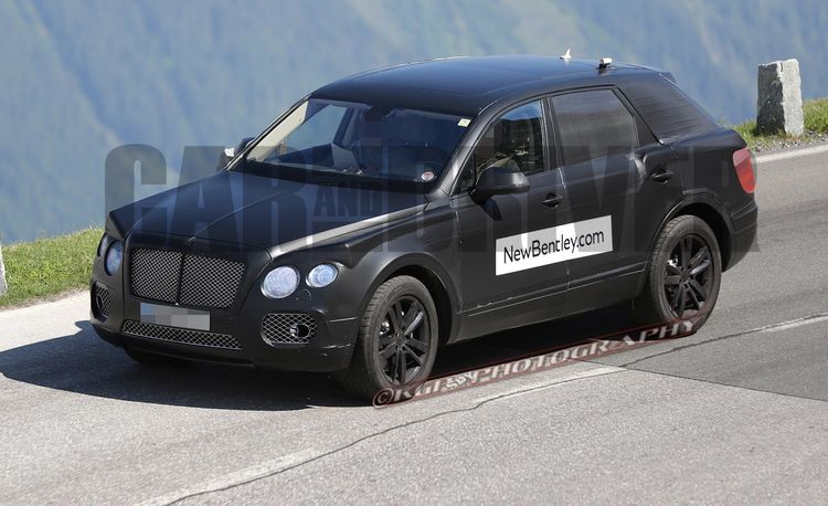 2016 Bentley SUV Spy Photos: Do You Think They Wanted Us to See It?