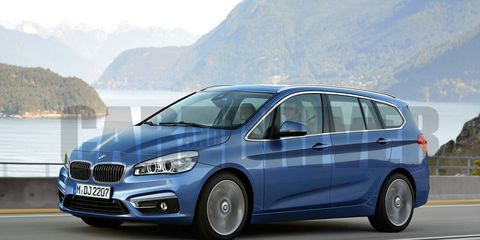 2016 Bmw 2 Series Seven Seater Rendered 8211 News 8211 Car And