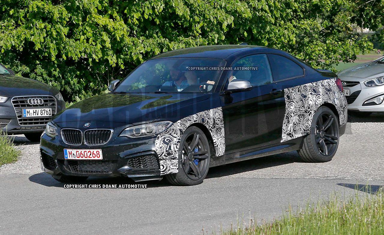 2016 BMW M2 Spied