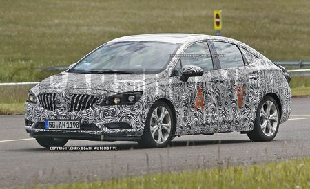 2016 Buick Verano Spy Photos: Aerodynamics Trump Machismo