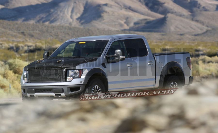 2016 Ford F 150 SVT Raptor Spy Photos