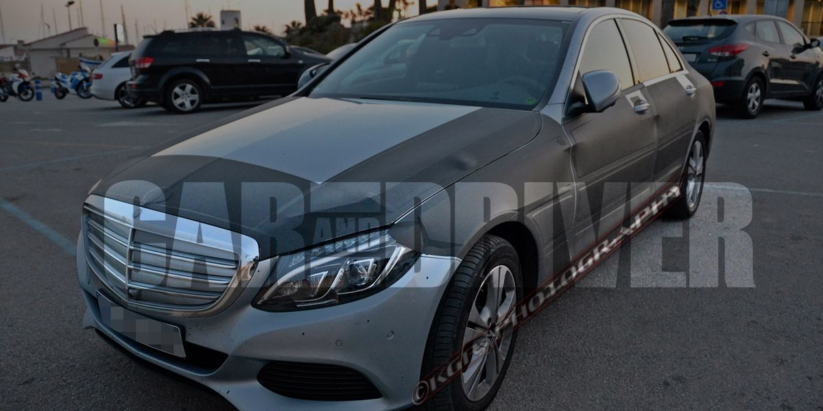 2016 Mercedes Benz C Class Plug In Hybrid Spy Photos 8211 Future