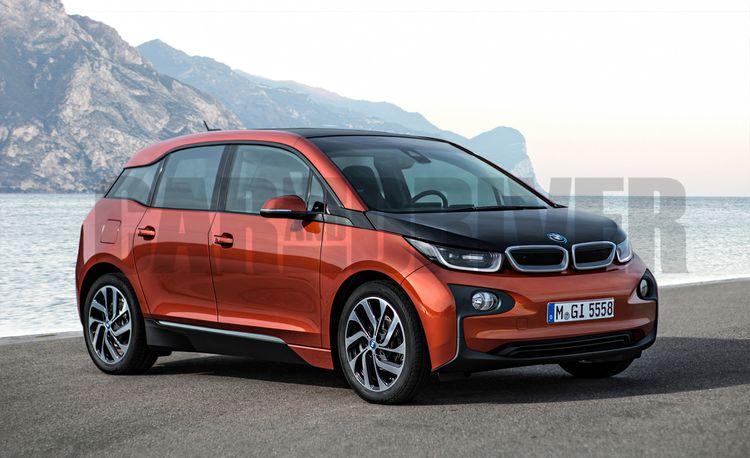 2017 BMW i5 Rendered