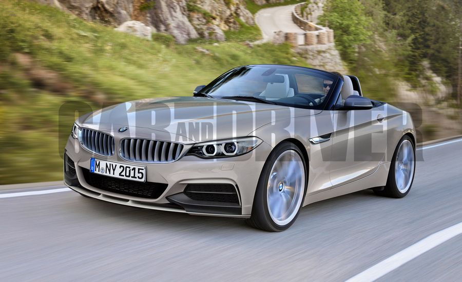 2017 Bmw Z2 Rendered News Car And Driver