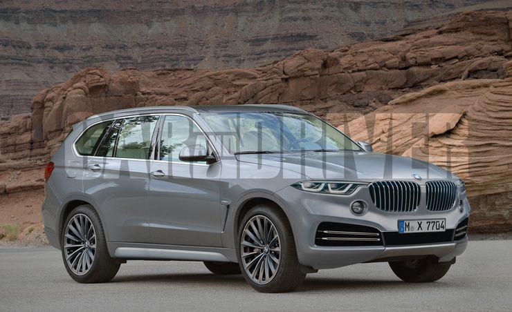 2018 BMW X7 SUV Rendered, Detailed