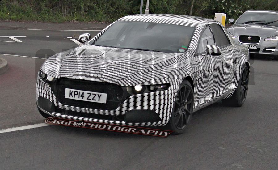 Aston Martin Sedan/Lagonda Spy Photos: It Better Be Called a Lagonda