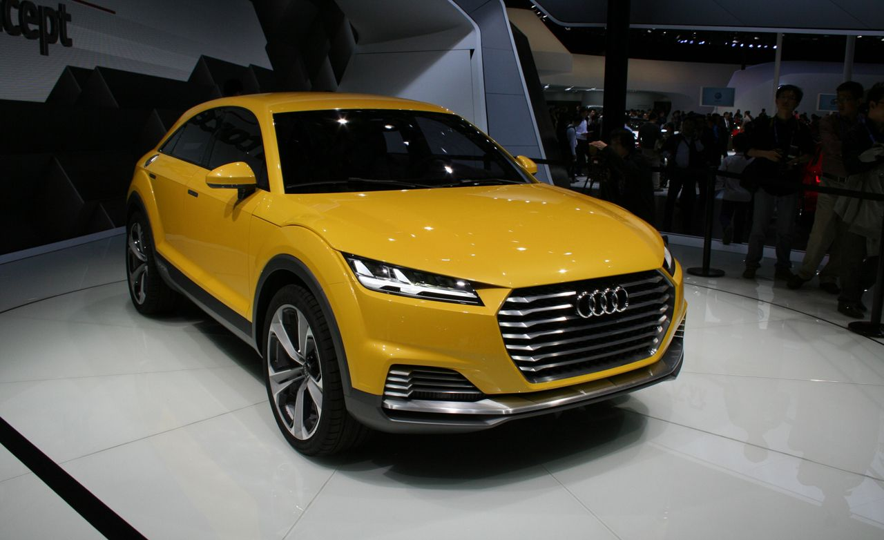 Audi TT Offroad Concept Photos And Info