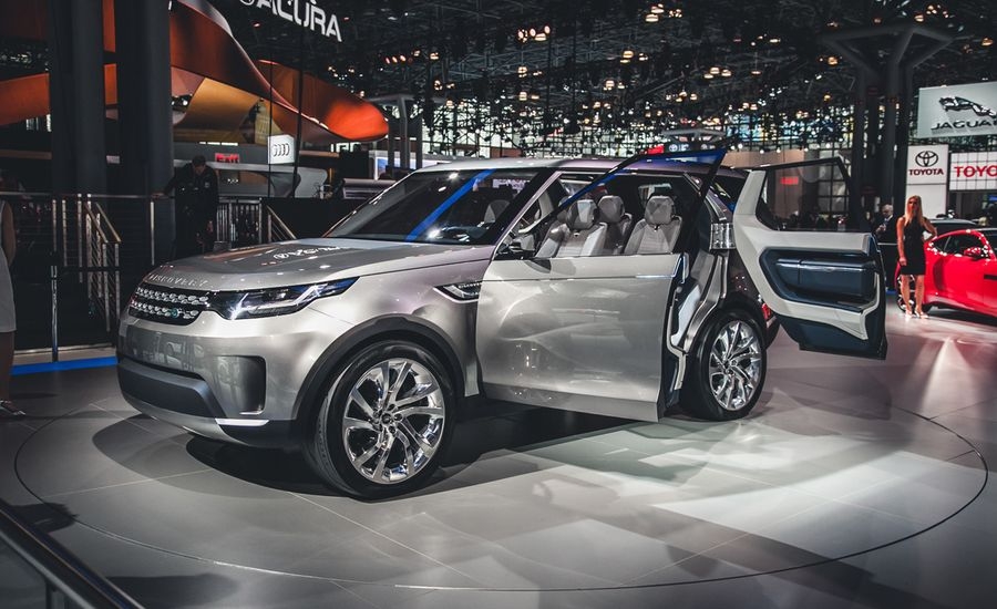 Land Rover Discovery Vision Concept Photos And Info News Car And