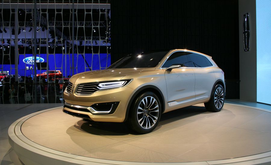 Lincoln Mkx Concept Photos And Info News Car And Driver