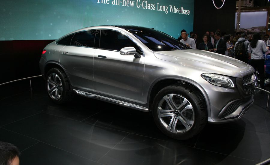 Mercedes benz concept coupe suv headed straight for for Mercedes benz coupe suv