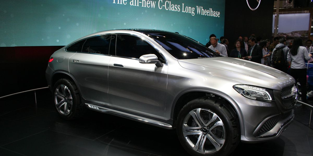 Mercedes Benz Concept Coupe Suv Headed Straight For Production