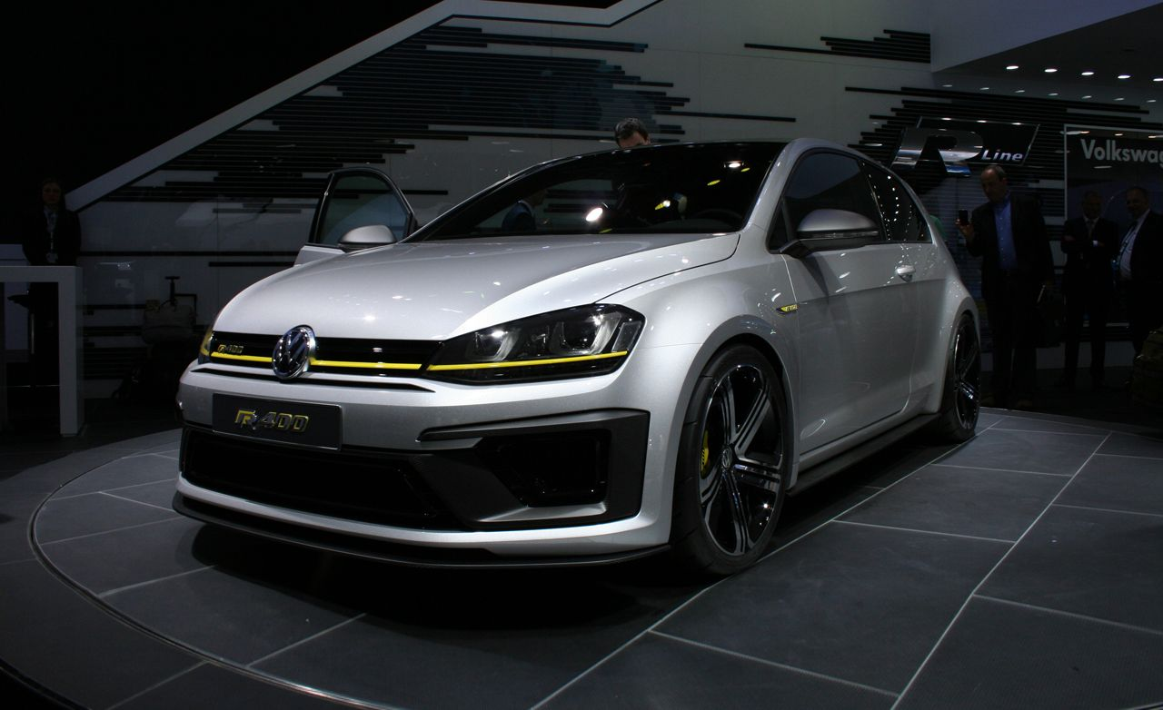 volkswagen golf r 400 concept news car and driver. Black Bedroom Furniture Sets. Home Design Ideas