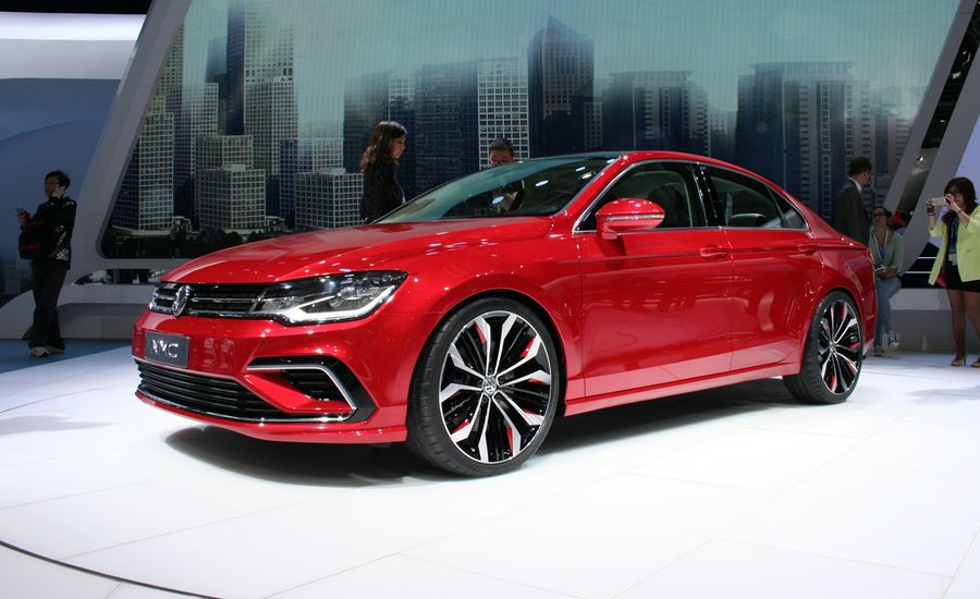 "Volkswagen's New Mid-Size Coupe Concept: Yes, a Golf-Based ""Four-Door Coupe"""